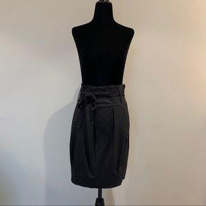 Aritzia Wilfred Paper Bag Skirt Black Size 6